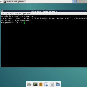 Debian 8 with XFCE