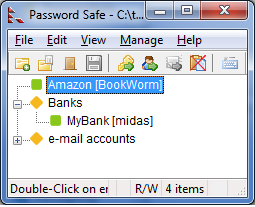PasswordSafe for Windows