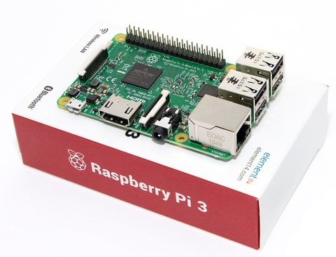 Raspberry Pi 3 with Box