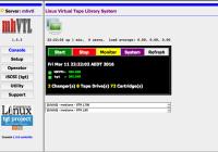mhVTL Web GUI